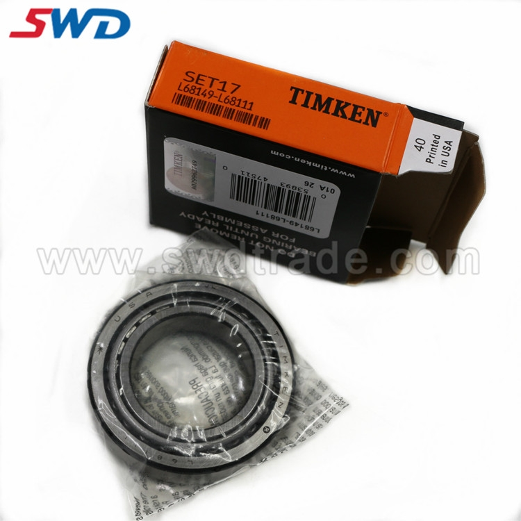 L68149/L68111 TIMKEN BEARING SET17 TAPERED ROLLER BEARING